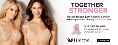 Together Stronger, Our Gift to You, Wacoal, Shop Now