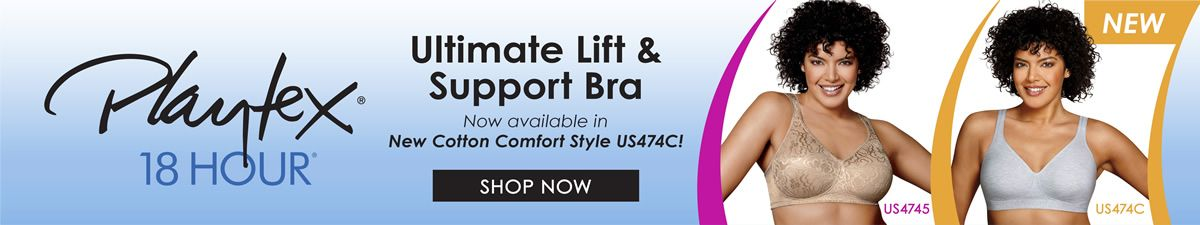 Playtex 18 Hour, Ultimate Lift and Support Bra, Shop Now