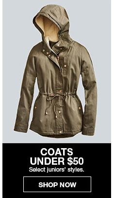 Coats Under $50, Shop Now