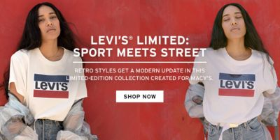 Levi's Limited: Sport Meets Street, Retro Styles Get a Modern Update in This Limited-Edition Collection Created For Macy's, Shop Now