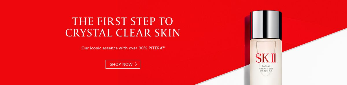 The First Step to Crystal Clear Skin, Shop Now