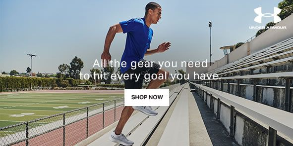 All the gear you need to hit every goal you have, Shop Now