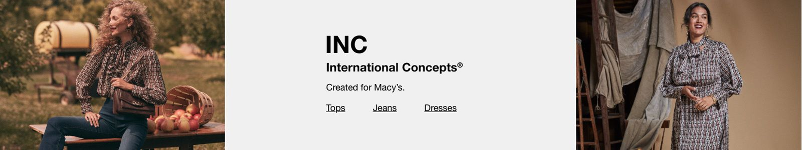 Inc, International Concepts, Created for Macy's, Tops, Jeans, Dresses