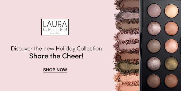 Laura Celler, Discover the new Holiday Collection, Share the Cheer! Shop Now