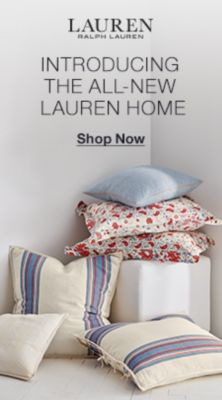 Lauren Ralph Lauren, Introducing The All-New, Lauren Home, Shop Now