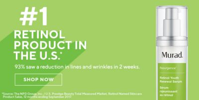 #1 Retinol Production In The U.S, Shop Now