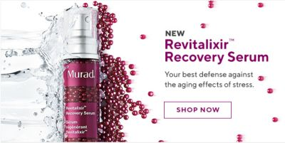 New Revitalixir Recovery Serum, Shop Now