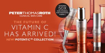 Peter Thomas Roth, The Future of Vitamin c Has Arrived! New! Potent-c, Collection