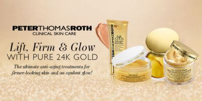 Peter Thomas Roth Clinical Skin Care, Lift, Firm and Glow, With Pure 24k Gold