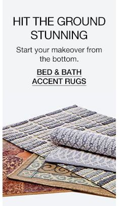 Hit The Ground Stunning Bed And Bath Accent Rugs