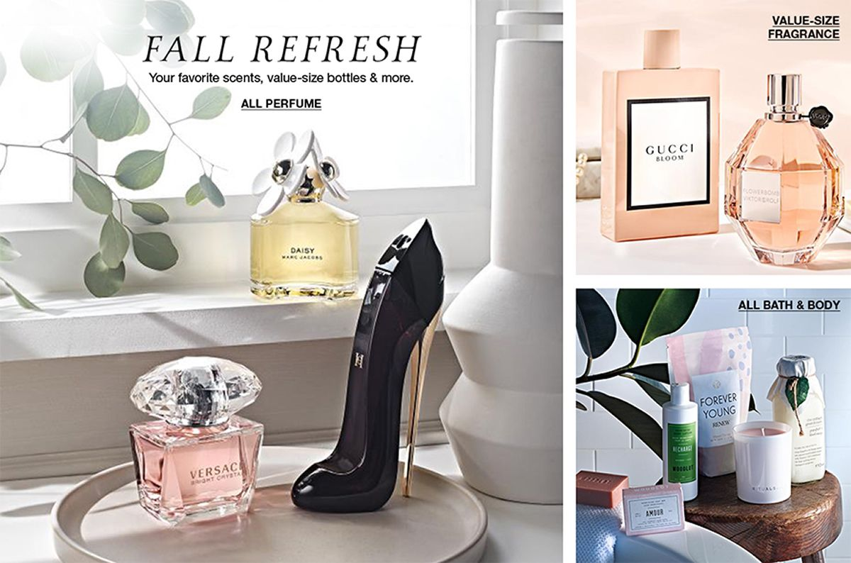 Fall Refresh All Perfume, Value-Size Fragrance, All Bath and Body