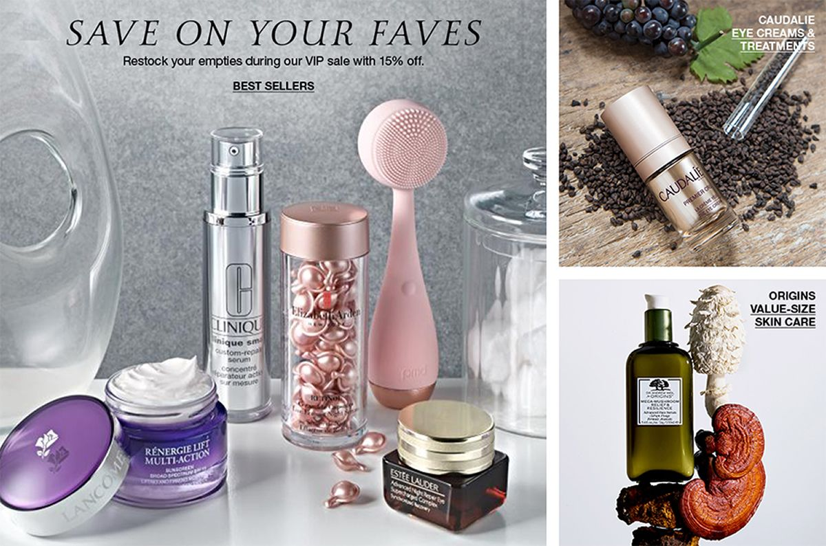 Save on Your Faves Best Sellers, Caudalie Eye Creams and Treatments, Origins Value-Size Skin Care