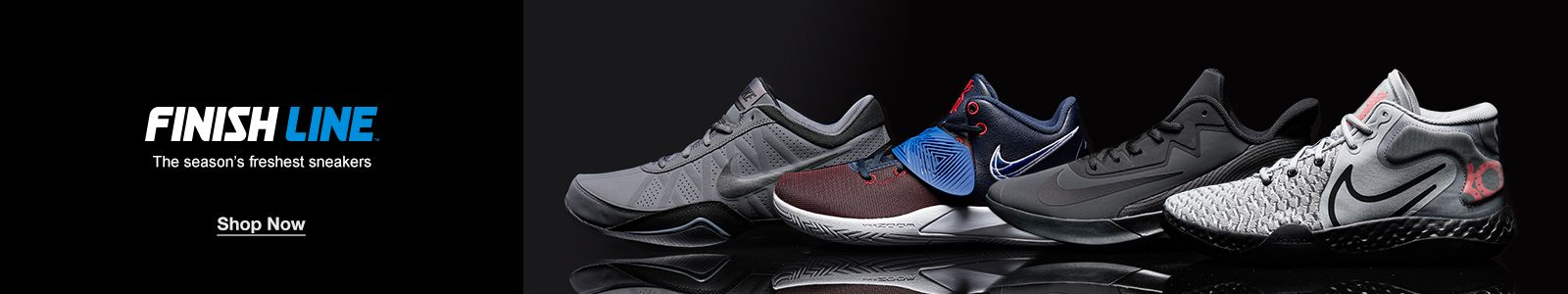 Finish Line, The season's freshest sneakers, Shop Now