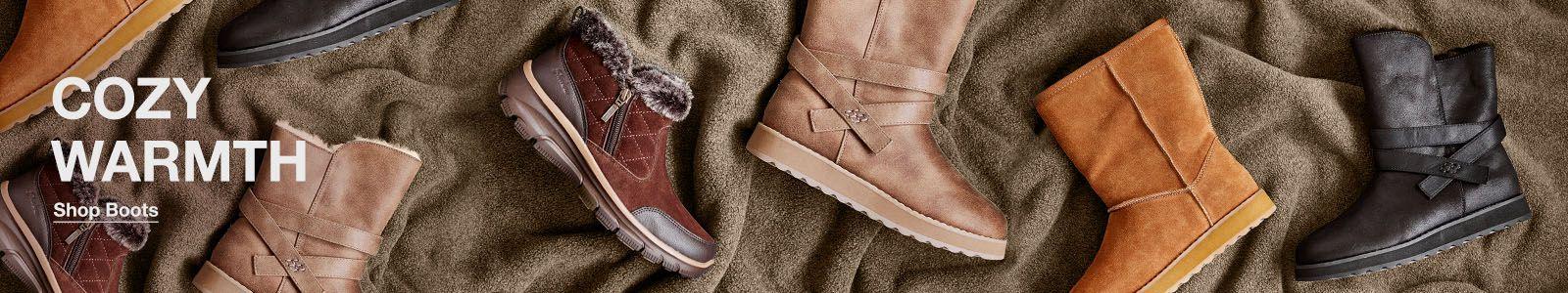 Cozy Warmth, Shop Boots