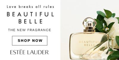 Love breaks all rules, Beautiful Belle, The New Fragrance, Shop Now, Estee Lauder