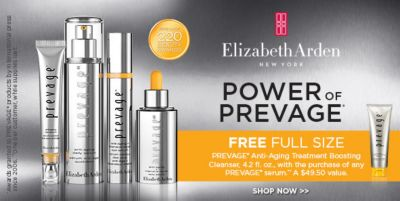 Elizabeth Arden, Power of Prevage, Free Full Size, Shop Now