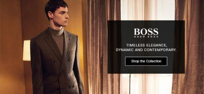 Boss, Timeless Elegance, Dynamic and Contemporary, Shop the Collection