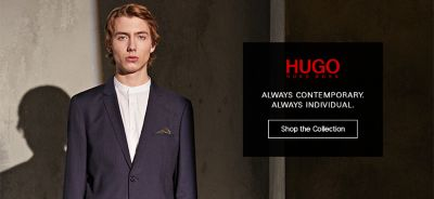 Hugo, Always Contemporary, Always Individual, Shop the Collection