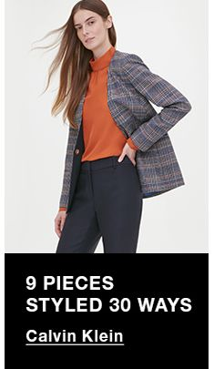 9 Pieces Styled 30 Ways, Calvin Klein