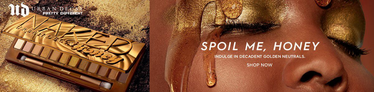 Urban Decay Pretty Different, Spoil Me, Honey Indulge in Decadent Golden Neutrals, Shop Now