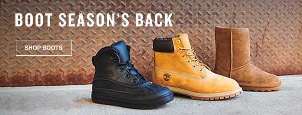 Boot Season's Back, Shop Boots
