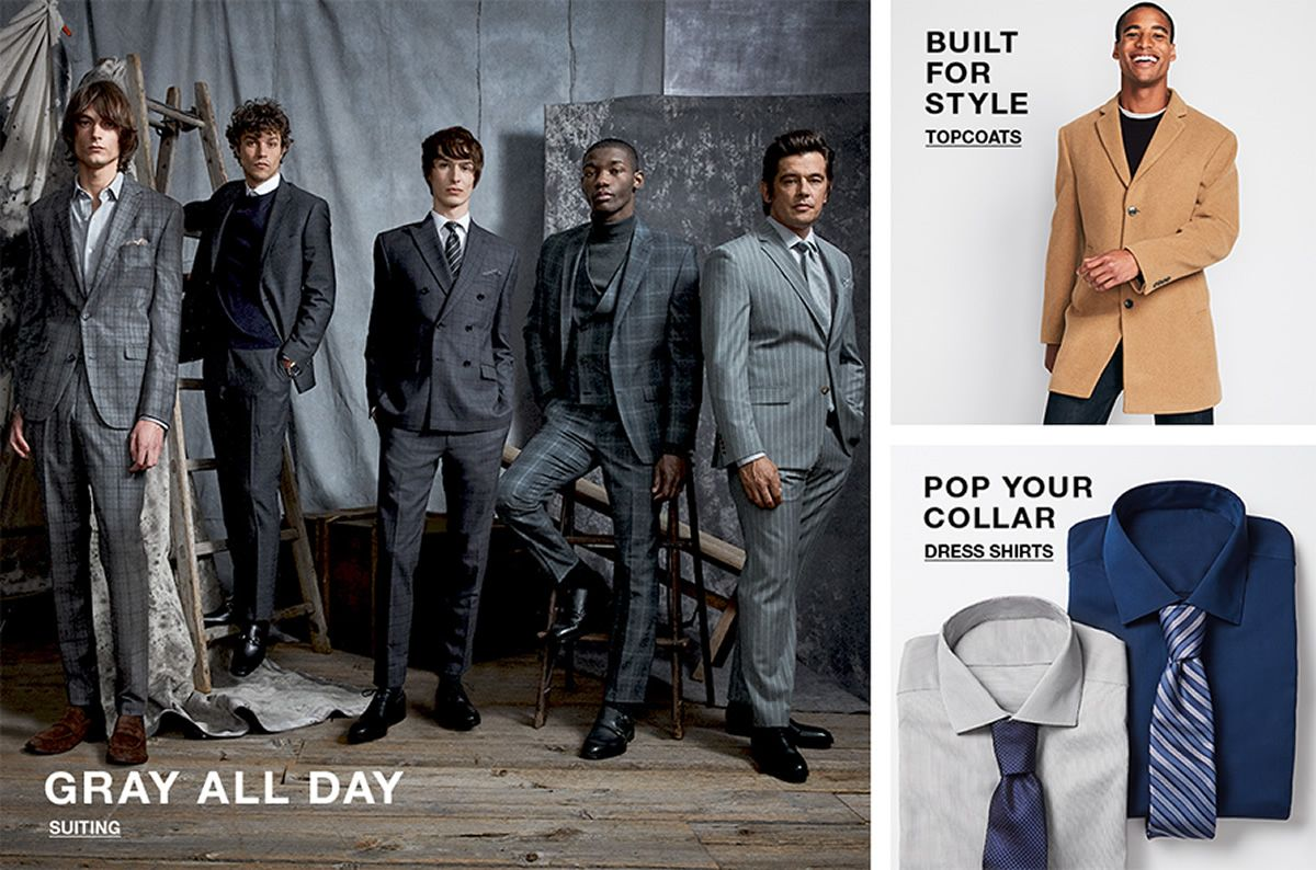 Gray All Day, Suiting, Built For Style, Topcoats, Pop Your Collar, Dress Shirts