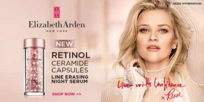 Elizabeth Arden, New York, New Retinol Ceramide Capsules, Line Erasing Night Serum, Shop Now
