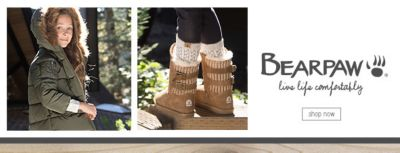 Bearpaw, live life comfortably, Shop Now