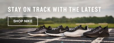 Stay on Track  with the Latest, Shop Nike