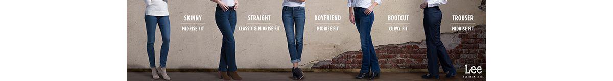 Skinny, Straight, Boy Friend, Bootcut, Trouser
