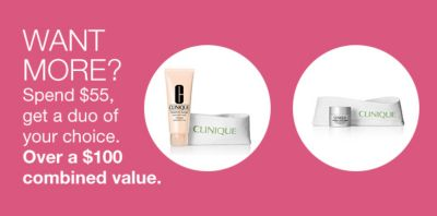 Want More? Spend $55, get a duo of your choice, Over a $100 combined value