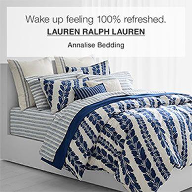 Wake up feeling 100 percent refreshed, Lauren Ralph Lauren, Annalise Bedding