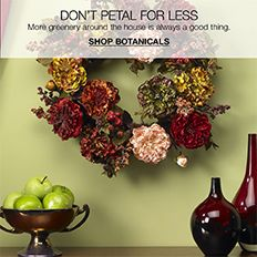 Don't Petal For Less, More greenery around the house is always a good thing, Shop Botanicals