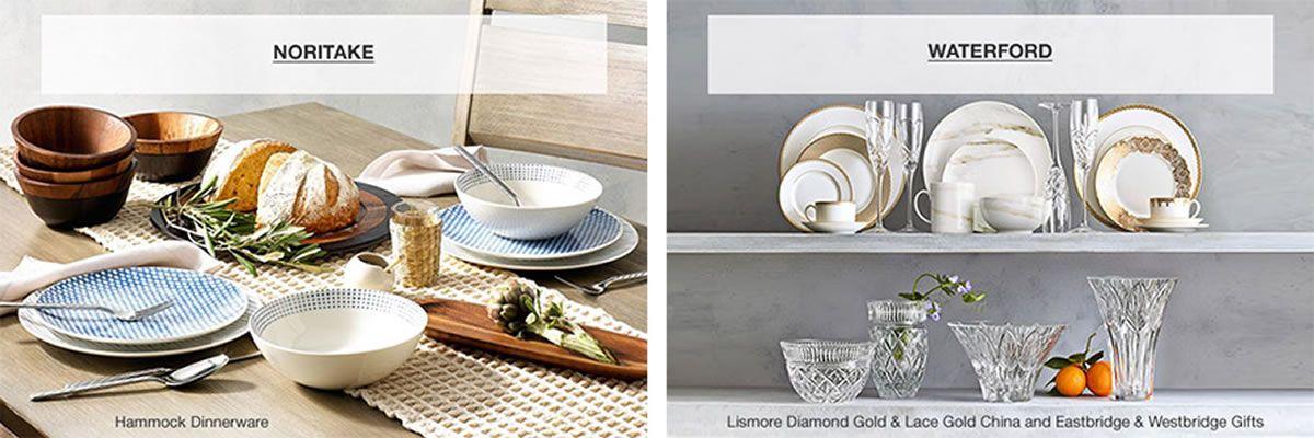 Dinnerware Sets Tableware Macy S