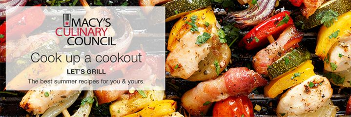 macys culinary council cook up a cookout lets grill - Macys Kitchen