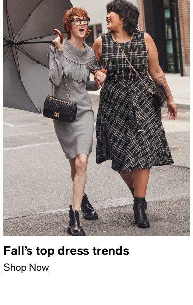 Fall's top dress trends