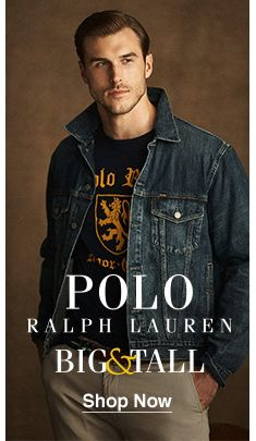 Polo, Ralph Lauren, Big and Tall, Shop Now