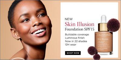 New Skin Illusion Foundation SPF 15, Shop Now