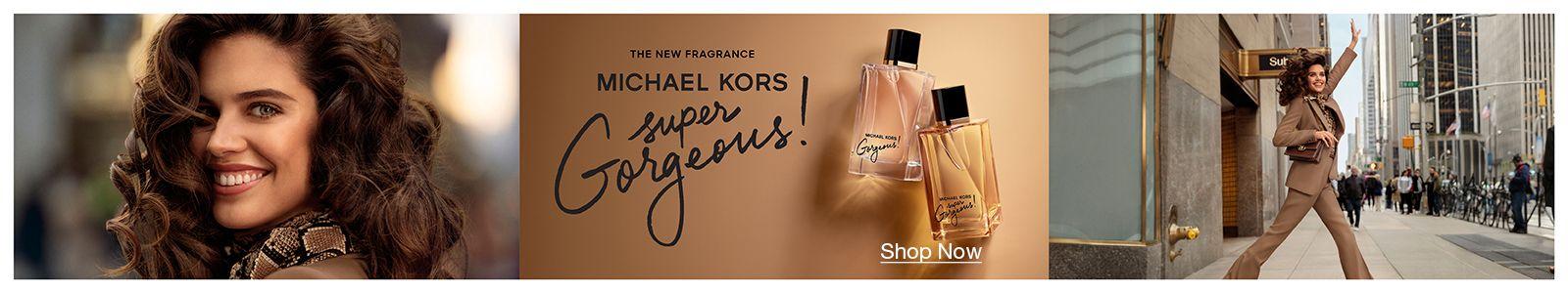 The new fragrance, Michael Kors, Super Gorgeous!