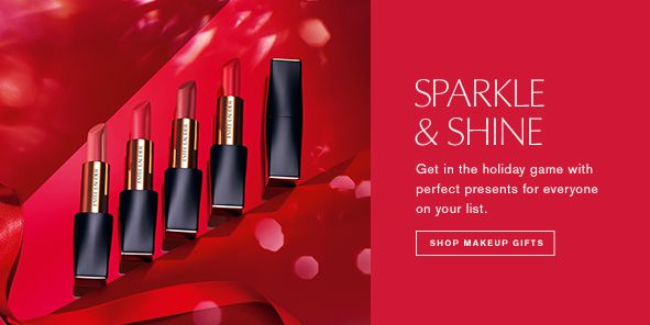 Sparkle and Shine, Get in the holiday game with perfect presents for everyone on your list, Shop Makeup Gifts