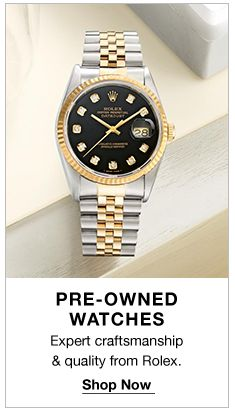 Pre-Owned Watches, Shop Now