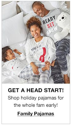 Get a Head Start!, Family Pajamas