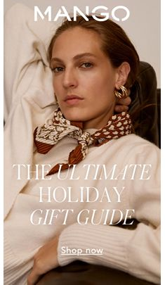 Mango, The Ultimate, Holiday Gift Guide, Shop now