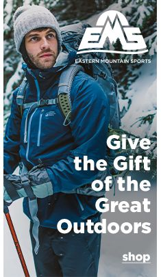Eastern Mountain Sports, Give the Gift of the Great Outdoors, Shop