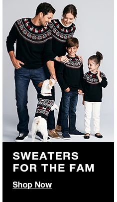 Sweaters For The Fam, Shop Now