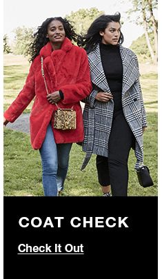 Coat Check, Check it Out