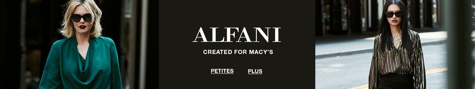 Alfani, Created For Macy's, Petites, Plus