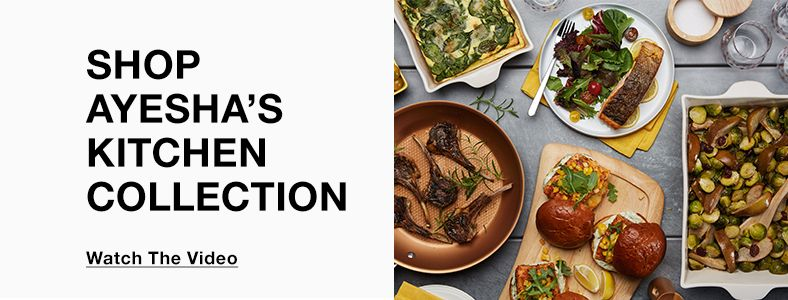 Shop Ayesha's Kitchen Collection, Watch The Vedio