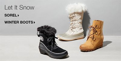 Let it Snow, Sorel, Winter Boots