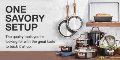 One Savory Setup, The quality tools you're looking for with the great taste to back it all up